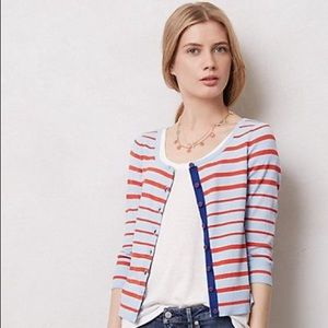 MOTH Red White and Blue Cardigan
